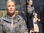 Hollywood, CA - Christina Applegate brings her daughter Sadie LeNoble to greet fans at 'Jimmy Kimmel Live!' Christina takes the time to pose with fans and sign posters before heading into the show.\n  \nAKM-GSI       July 18, 2016\nTo License These Photos, Please Contact :\nMaria Buda\n(917) 242-1505\nmbuda@akmgsi.com\nsales@akmgsi.com\nMark Satter\n(317) 691-9592\nmsatter@akmgsi.com\nsales@akmgsi.com\nwww.akmgsi.com