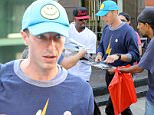 July 17, 2016\n \n Singer Chris Martin was swarmed by fans in New York City, New York. The Coldplay frontman sported a blue cap with a smiley face and a lightning bolt printed sweater.\n \n Non Exclusive\n UK RIGHTS ONLY\n \n Pictures by : FameFlynet UK © 2016\n Tel : +44 (0)20 3551 5049\n Email : info@fameflynet.uk.com