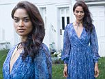 EAST HAMPTON, NY - JULY 16:  Model Shanina Shaik attends Daily Front Row's Philipp Plein Dinner on July 16, 2016 at the Maidstone in East Hampton, New York.  (Photo by Mark Sagliocco/Getty Images)