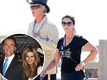 Exclusive... 52125397 Author Maria Shriver goes for a walk with a man in Santa Monica, California on July 17, 2016.  The two walked very close to one another. FameFlynet, Inc - Beverly Hills, CA, USA - +1 (310) 505-9876