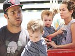 17.JULY.2016 - Studio City ñ USA\n**STRICTLY AVAILABLE FOR UK AND GERMANY USE ONLY**\nStudio City, CA - Pete Wentz and Meagan Camper take their son Saint to the Farmers' Market for some fun in the Summer sun. The trio look to the having fun as they explore the venue together.\nBYLINE MUST READ : AKM-GSI-XPOSURE\n***UK CLIENTS - PICTURES CONTAINING CHILDREN PLEASE PIXELATE FACE PRIOR TO PUBLICATION ***\n*UK CLIENTS MUST CALL PRIOR TO TV OR ONLINE USAGE PLEASE TELEPHONE 0208 344 2007*\n