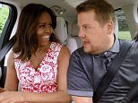 Michelle Obama rocks out with James Corden in teaser for 'Carpool Karaoke' appearance airing Wednesday