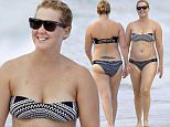 Exclusive... 52125048 Comedian Amy Schumer was seen hanging out at the beach with a couple of friends while on vacation in Oahu, Hawaii on July 16, 2016. ***NO USE W/O PRIOR AGREEMENT - CALL FOR PRICING*** FameFlynet, Inc - Beverly Hills, CA, USA - +1 (310) 505-9876