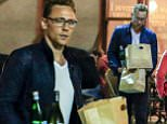 "TOM HIDDLESTON STEPS OUT TO PICK UP A ROMANTIC TAKE AWAY DINNER FROM ìSOCIAL EATING HOUSE & BAR"" ON THE GOLD COAST, FOR HIM AND GIRLFRIEND, TAYLOR SWIFT.\n17 July 2016\n©MEDIA-MODE.COM"