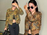 Kendall Jenner arrives at LAX in tights\n\nPictured: Kendall Jenner\nRef: SPL1320694  190716  \nPicture by: MONEY$HOT-$HAWN\n\nSplash News and Pictures\nLos Angeles: 310-821-2666\nNew York: 212-619-2666\nLondon: 870-934-2666\nphotodesk@splashnews.com\n