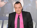 """HOLLYWOOD, CA - AUGUST 11:  Actor Tom Sizemore arrives at the Los Angeles Premiere """"The Expendables 3"""" at TCL Chinese Theatre on August 11, 2014 in Hollywood, California.  (Photo by Jon Kopaloff/FilmMagic)"""