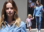 Exclusive... 52127232 Actress and busy mom Emily Blunt is spotted out and about with her daughter Hazel on July 19, 2016 in Los Angeles, California. Emily and her husband John Krasinski just welcomed their second daughter into the world, baby Violet. FameFlynet, Inc - Beverly Hills, CA, USA - +1 (310) 505-9876