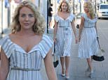 July 19, 2016: Lydia Bright  leaving her shop after a day of filming 'The Only Way is Essex', London, UK. Mandatory Credit: Palace/INFphoto.com Ref.: infuklo-227