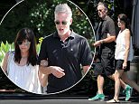 Exclusive... 52127489 Actress Selma Blair and her inseparable silver-haired mystery male friend are spotted out and about in West Hollywood, California on July 19, 2016. The two were immersed in a conversation while walking with linked arms. FameFlynet, Inc - Beverly Hills, CA, USA - +1 (310) 505-9876