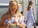 Picture Shows: Kate Hudson  July 19, 2016\n \n ** Min Web / Online Fee £200 For Set **\n \n Actress Kate Hudson stops for a quick stop at the gas station on her way to Saint Tropez, France. Kate got a sandwich while as the gas station.\n \n Exclusive All Rounder\n UK RIGHTS ONLY\n Pictures by : FameFlynet UK © 2016\n Tel : +44 (0)20 3551 5049\n Email : info@fameflynet.uk.com