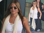 19 Jul 2016 - Los Angeles   - USA    Jennifer Aniston walks through LAX      BYLINE MUST READ : XPOSUREPHOTOS.COM  ***UK CLIENTS - PICTURES CONTAINING CHILDREN PLEASE PIXELATE FACE PRIOR TO PUBLICATION ***  **UK CLIENTS MUST CALL PRIOR TO TV OR ONLINE USAGE PLEASE TELEPHONE  44 208 344 2007 ***