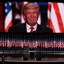 Donald Trump Delivers Dark, Fear-Mongering RNC Speech