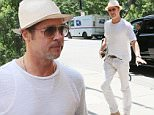 , New York, NY -7/20/16-Brad Pitt Out And About In New York\n-PICTURED: Brad Pitt\n-PHOTO by: LISVETT SERRANT/startraksphoto.com\n-ETT_1107706\nEditorial - Rights Managed Image - Please contact www.startraksphoto.com for licensing fee\nStartraks Photo\nNew York, NY\nFor licensing please call 212-414-9464 or email sales@startraksphoto.com\nImage may not be published in any way that is or might be deemed defamatory, libelous, pornographic, or obscene. Please consult our sales department for any clarification or question you may have.\nStartraks Photo reserves the right to pursue unauthorized users of this image. If you violate our intellectual property you may be liable for actual damages, loss of income, and profits you derive from the use of this image, and where appropriate, the cost of collection and/or statutory damages., New York, NY -7/20/16-Brad Pitt Out And About In New York\n-PICTURED: Brad Pitt\n-PHOTO by: LISVETT SERRANT/startraksphoto.com\n-ETT_1107706\nEditorial - Rights M