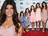 THE BRAVOS -- Pictured: (l-r) Audriana Giudice, Milania Giudice, Gabriella Giudice, Gia Giudice, Teresa Giudice -- (Photo by: Charles Sykes/Bravo/NBCU Photo Bank via Getty Images)