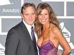 Jay Mohr and Nikki Cox arrive at the 51st GRAMMY¿¿ Awards held at the Staples Center in Los Angeles. (Photo by Frank Trapper/Corbis via Getty Images)