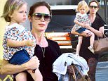 20 July 2016 - Studio City, CA  - USA\n**STRICTLY AVAILABLE FOR UK AND GERMANY USE ONLY**\nEmily Blunt is looking happy while out with her daughter Hazel.  The actress and her daughter were spotted leaving Kazu Sushi after having lunch in Studio City.\nBYLINE MUST READ : AKM-GSI-XPOSURE\n***UK CLIENTS - PICTURES CONTAINING CHILDREN PLEASE PIXELATE FACE PRIOR TO PUBLICATION ***\n*UK CLIENTS MUST CALL PRIOR TO TV OR ONLINE USAGE PLEASE TELEPHONE 0208 344 2007*\n