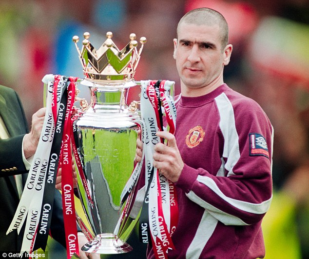Cantona suddenly announced his retirement from football in 1997 after winning the Premier League