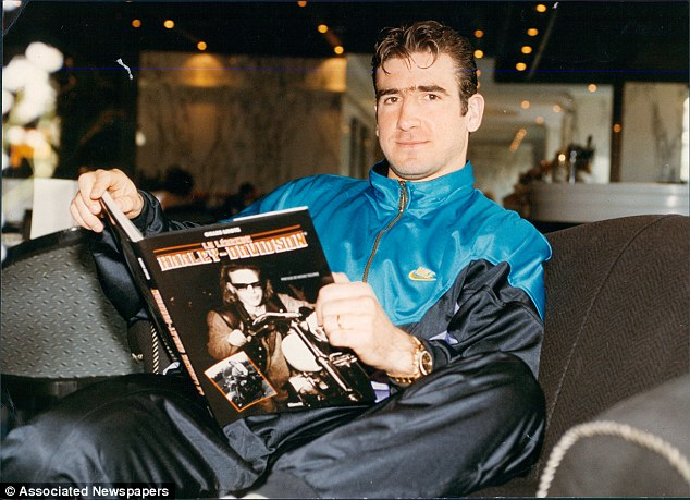 Cantona was nearly 26 when he first arrived in England - signing for United's rivals, Leeds United, in 1992