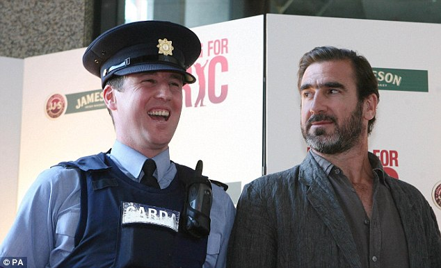 Cantona's appearance in the 2009 film Looking for Eric saw his street cred go off the scale