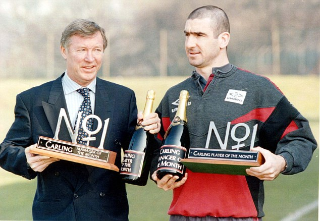 Cantona's United boss Alex Ferguson said that the Frenchman was one of four world-class players he had