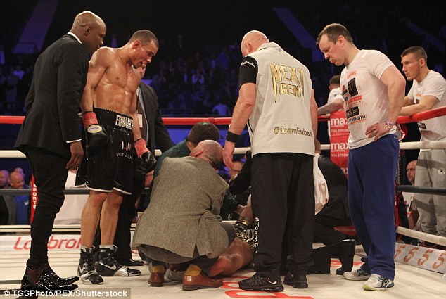 Chris Eubank and son Chris Eubank Jnr believe that not speaking after the fight would've been cold hearted