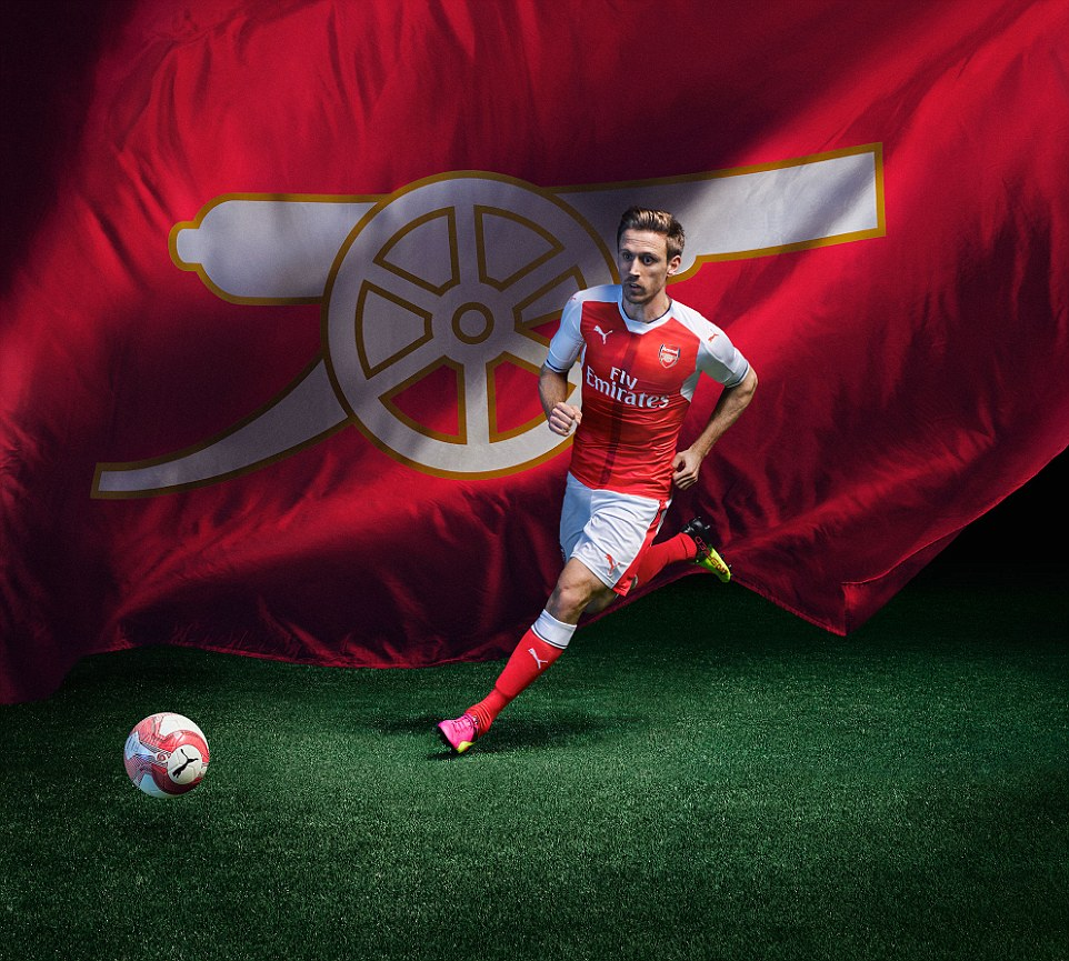 Monreal will be looking forward to wearing the kit next season after establishing himself as the club's first choice left back
