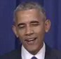 OBMA smiles during address about Munich.