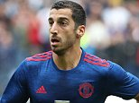 WIGAN, ENGLAND - JULY 16:  Henrikh Mkhitaryan of Manchester United in action during the pre-season friendly match between Wigan Athletic and Manchester United at JJB Stadium on July 16, 2016 in Wigan, England.  (Photo by John Peters/Man Utd via Getty Images)