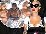 EXCLUSIVE: Amber Rose stops by an office building in Beverly Hills\n\nPictured: Amber Rose\nRef: SPL1322196  210716   EXCLUSIVE\nPicture by: Splash News\n\nSplash News and Pictures\nLos Angeles:\t310-821-2666\nNew York:\t212-619-2666\nLondon:\t870-934-2666\nphotodesk@splashnews.com\n