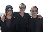 Pictured: Norman Reedus, Jeffrey Dean Morgan and Andrew Lincoln Mandatory Credit � Gilbert Flores/Broadimage Comic-Con International 2016 - Day 2 - FOX International Press Breakfast for The Walking Dead and Outcast   7/22/16, San Diego, CA, United States of America  Broadimage Newswire Los Angeles 1+  (310) 301-1027 New York      1+  (646) 827-9134 sales@broadimage.com http://www.broadimage.com