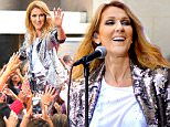 """NEW YORK, NY - JULY 22:  Celine Dion performs on NBC's """"Today"""" show at Rockefeller Plaza on July 22, 2016 in New York City.  (Photo by Michael Loccisano/Getty Images)"""