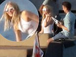 Picture Shows: Elle Evans, Matthew Bellamy  July 21, 2016\n \n Matthew Bellamy and girlfriend Elle Evans were spotted on a boat in the Gulf of saint Tropez having fun with a drone in Saint Tropez, France.\n \n Non Exclusive\n UK RIGHTS ONLY\n \n Pictures by : FameFlynet UK � 2016\n Tel : +44 (0)20 3551 5049\n Email : info@fameflynet.uk.com