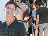 West Hollywood, CA - John Stamos and girlfriend Caitlin McHugh end a shopping trip at RRL in West Hollywood. Caitlin is wearing denim shorts and a denim button up paired with sandals as she holds hands with the 'Fuller House' star while out on the town spending his bread.\n \n AKM-GSI July 20, 2016\nTo License These Photos, Please Contact :\nMaria Buda\n(917) 242-1505\nmbuda@akmgsi.com\nsales@akmgsi.com\nor \nMark Satter\n(317) 691-9592\nmsatter@akmgsi.com\nsales@akmgsi.com\nwww.akmgsi.com