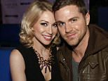 ATLANTIC CITY, NJ - MARCH 01:  Stassi Schroeder poses with her boyfriend Patrick Meagher while hosting The Pool After Dark at Harrah's Resort on Saturday March 1, 2014 in Atlantic City, New Jersey.  (Photo by Tom Briglia/FilmMagic)
