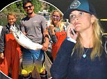 Picture Shows: Reese Witherspoon  July 22, 2016\n \n Actress Reese Witherspoon and her son Deacon arrive on a flight at LAX Airport in Los Angeles, California. \n \n The pair returned from a special hiking trip in British Columbia, which she shared on social media every step of the way.\n \n Non-Exclusive\n UK RIGHTS ONLY\n \n Pictures by : FameFlynet UK © 2016\n Tel : +44 (0)20 3551 5049\n Email : info@fameflynet.uk.com