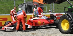 Vettel: Brake issue caused late FP2 spin