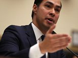 "WASHINGTON, DC - JULY 13:  U.S. Secretary of Housing and Urban Development (HUD) Julian Castro testifies during a hearing before the House Financial Services Committee July 13, 2016 on Capitol Hill in Washington, DC. The committee held a hearing on ""HUD Accountability.""  (Photo by Alex Wong/Getty Images)"