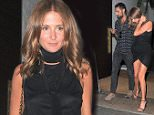 Picture Shows: Hugo Taylor, Millie Mackintosh  July 22, 2016    Millie Mackintosh and Hugo Taylor seen out on a dinner date at OURS restaurant in London, United Kingdom. The couple entered the restaurant hand in hand and appeared to enjoy their night out.    Non Exclusive  WORLDWIDE RIGHTS    Pictures by : FameFlynet UK © 2016  Tel : +44 (0)20 3551 5049  Email : info@fameflynet.uk.com