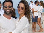 22.JULY.2016 - ST TROPEZ - FRANCE *** AVAILABLE FOR UK SALE ONLY *** ** EXCLUSIVE ALL ROUND PICTURES ** Victoria secret model Alessandra Ambrosio and her boyfriend Jamie Mazur at the Club 55 in St Tropez BYLINE MUST READ : E-PRESS / XPOSUREPHOTOS.COM ***UK CLIENTS - PICTURES CONTAINING CHILDREN PLEASE PIXELATE FACE PRIOR TO PUBLICATION *** **UK CLIENTS MUST CALL PRIOR TO TV OR ONLINE USAGE PLEASE TELEPHONE 0208 344 2007**