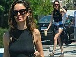 22.JULY.2016 - HOLLYWOOD - USA\n**STRICTLY AVAILABLE FOR UK AND GERMANY USE ONLY**\n** EXCLUSIVE ALL ROUND PICTURES **\nAustralian model, Nicole Trunfio is seen leaving Toast Bakery and Cafe after enjoying an early morning breakfast. The 30-year old beauty is rocking the off-duty model look in a pair of high waisted shorts and a green, sleeveless turtleneck. \nBYLINE MUST READ : AKM-GSI-XPOSURE\n***UK CLIENTS - PICTURES CONTAINING CHILDREN PLEASE PIXELATE FACE PRIOR TO PUBLICATION ***\n*UK CLIENTS MUST CALL PRIOR TO TV OR ONLINE USAGE PLEASE TELEPHONE 0208 344 2007*\n