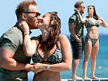 PICTURE BYLINE --- optimusimages.co.uk\n\nPICTURES SHOW --- Coronation Street star Kym Marsh seen in St Tropez, France enjoying the sun in her bikini along with partner Matt Baker. Kym and Matt could be seen walking along the jetty taking in the sun shine and later walking along the beach enjoying each others company.\n\n***Exclusive pictures, a fee must be agreed before any use***\n\n***Notice, no web or TV usage without prior agreeing a fee***\n\nFor more info please Email pictures@optimusimages.co.uk or visit www.optimusimages.co.uk\n\n\n\n