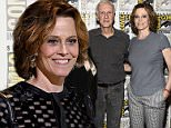 """SAN DIEGO, CA - JULY 23:  Actress Sigourney Weaver attends the """"Aliens: 30th Anniversary"""" panel during Comic-Con International 2016 at San Diego Convention Center on July 23, 2016 in San Diego, California.  (Photo by Kevin Winter/Getty Images)"""