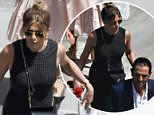 23.JULY.2016 - Giffoni - Italy ** EXCLUSIVE ALL ROUND PICTURES **   ** Strictly No Italy - France - Spain - Germany **  Jennifer Aniston pictured on her way to Giffoni film festival where she's special guest. BYLINE MUST READ : XPOSUREPHOTOS.COM ***UK CLIENTS - PICTURES CONTAINING CHILDREN PLEASE PIXELATE FACE PRIOR TO PUBLICATION*** UK CLIENTS MUST CALL PRIOR TO TV OR ONLINE USAGE PLEASE TELEPHONE 0208 344 2007
