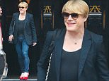 Picture Shows: Eddie Izzard  July 22, 2016\n \n Comedian Eddie Izzard was spotted dressed in drag while out and about in New York City. He wore red high heels and showed off his matching finger and toe nails. Eddie had a hint of red lipstick as well. Eddie normally dresses in drag for a character for his stand up comedy.\n \n Non-Exclusive\n UK RIGHTS ONLY\n \n Pictures by : FameFlynet UK © 2016\n Tel : +44 (0)20 3551 5049\n Email : info@fameflynet.uk.com