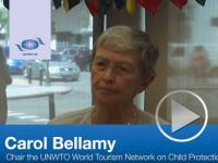 Interview with Carol Bellamy, Chair of the UNWTO Network on Child Protection