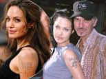 Billy Bob Thornton & wife Angelina Jolie at the National Theater in Westwood, California (Photo by Steve Granitz/WireImage)