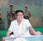 North Korean leader Kim Jong-Un inspects a drill for a ballistic missile launch by the Hwasong artillery units of the Korean People's Army in undated photo released in July