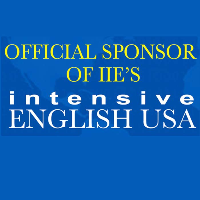 Official Sponsor of IIE'S: Intensive English USA