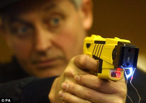 An investigation has been launched after a man was Tasered by police while suffering an epileptic fit (file photo)