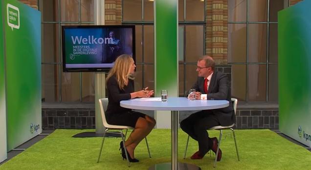 KPN Netwerkcafe TV Janneke Willemse